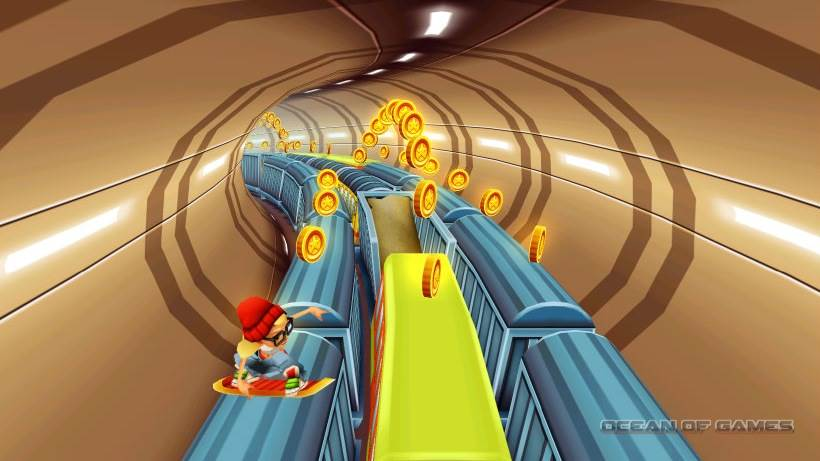 subway surfers keyboard controls