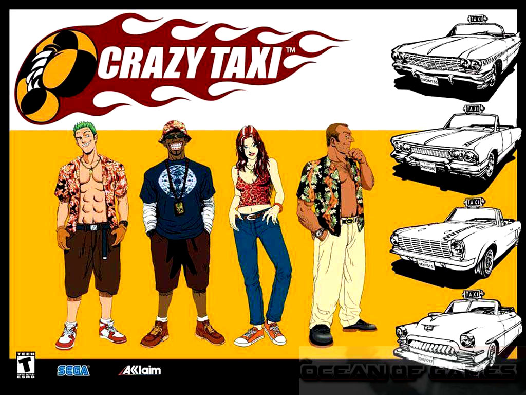 Crazy Taxi Setup Free Download