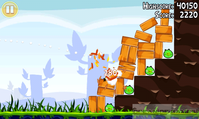 Angry Birds Features