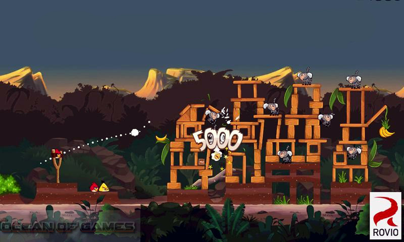 Angry Birds Rio Features