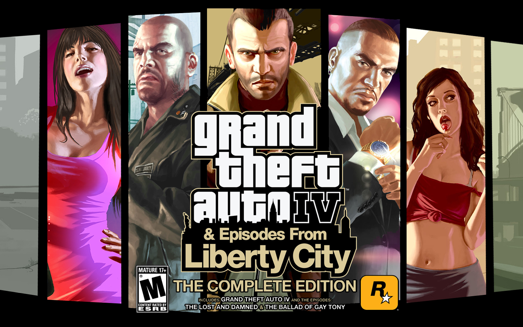 Grand Theft Auto IV Complete Edition logo