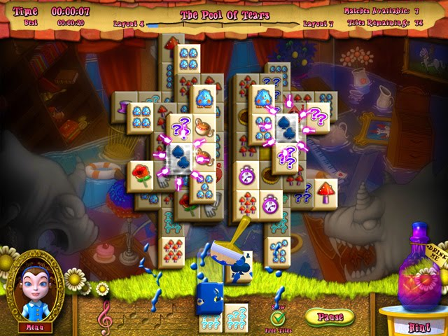 Alice's Magical Mahjong free download