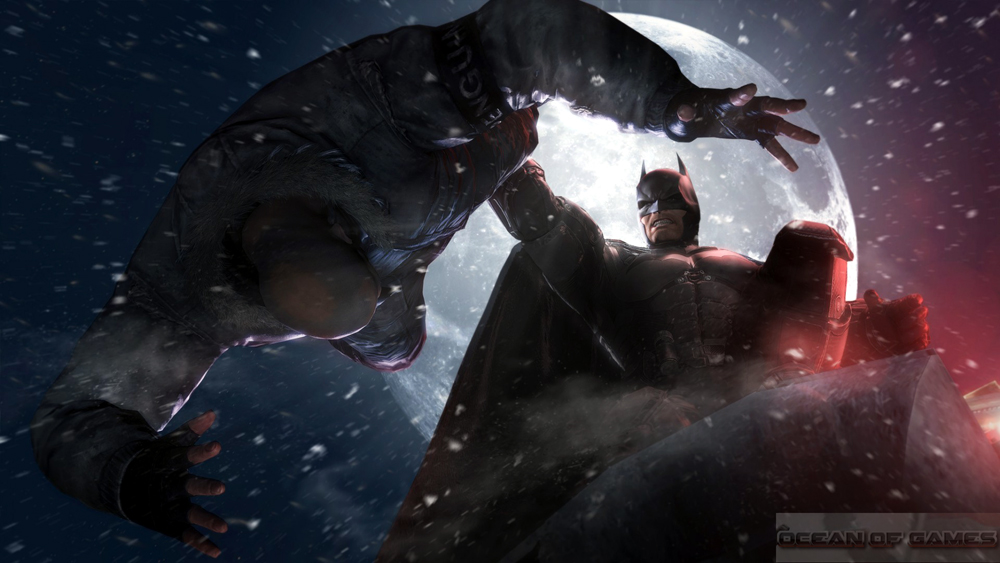 Batman Arkham Origins Features