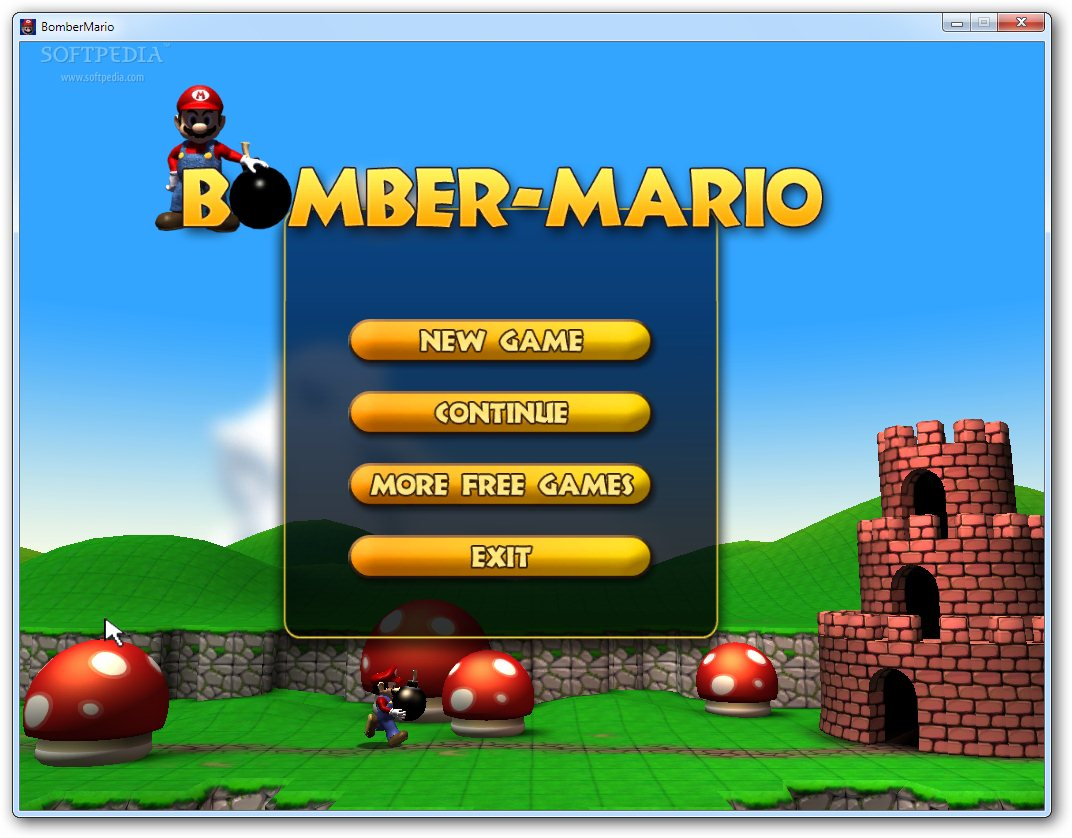 Bomber Mario free download