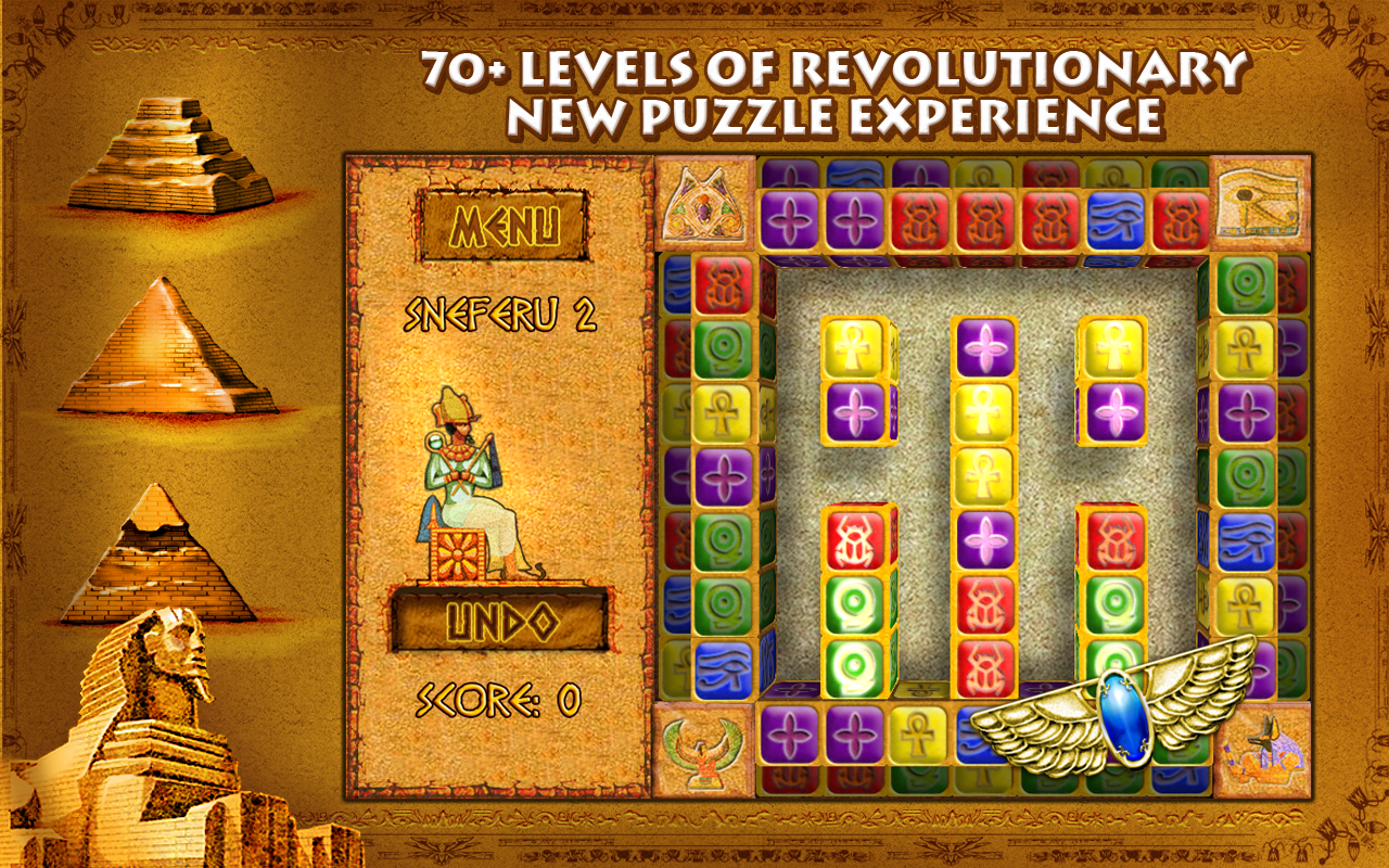 Bricks of Egypt Arcade Game - Free Download for your PC