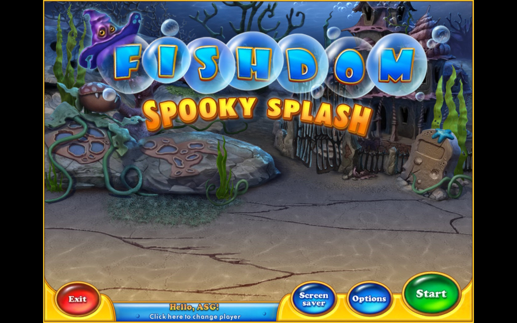 Fishdom Spooky Splash Free Download