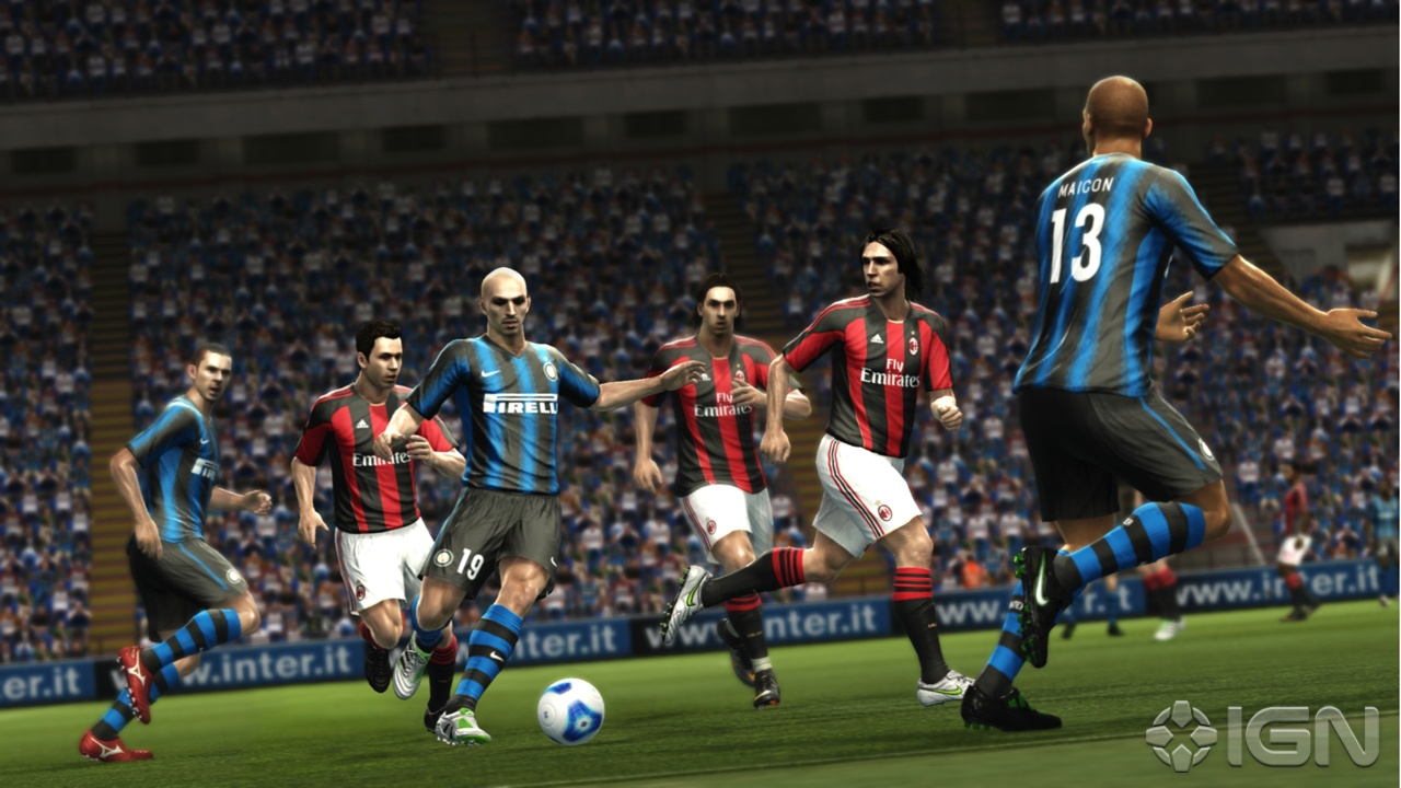 Pro Evolution Soccer 2012 away