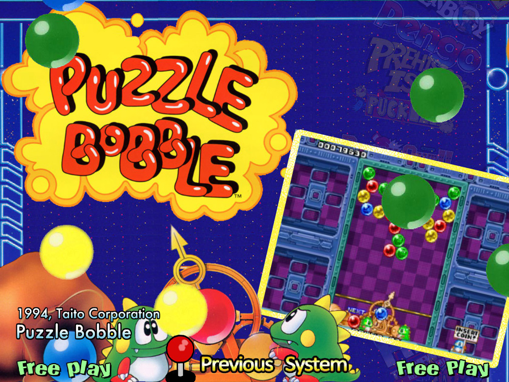 puzzle bobble game online