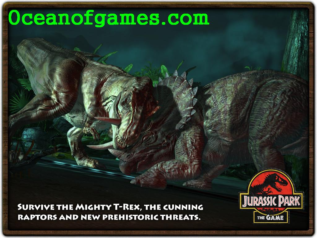 Free Jurassic Park The Game