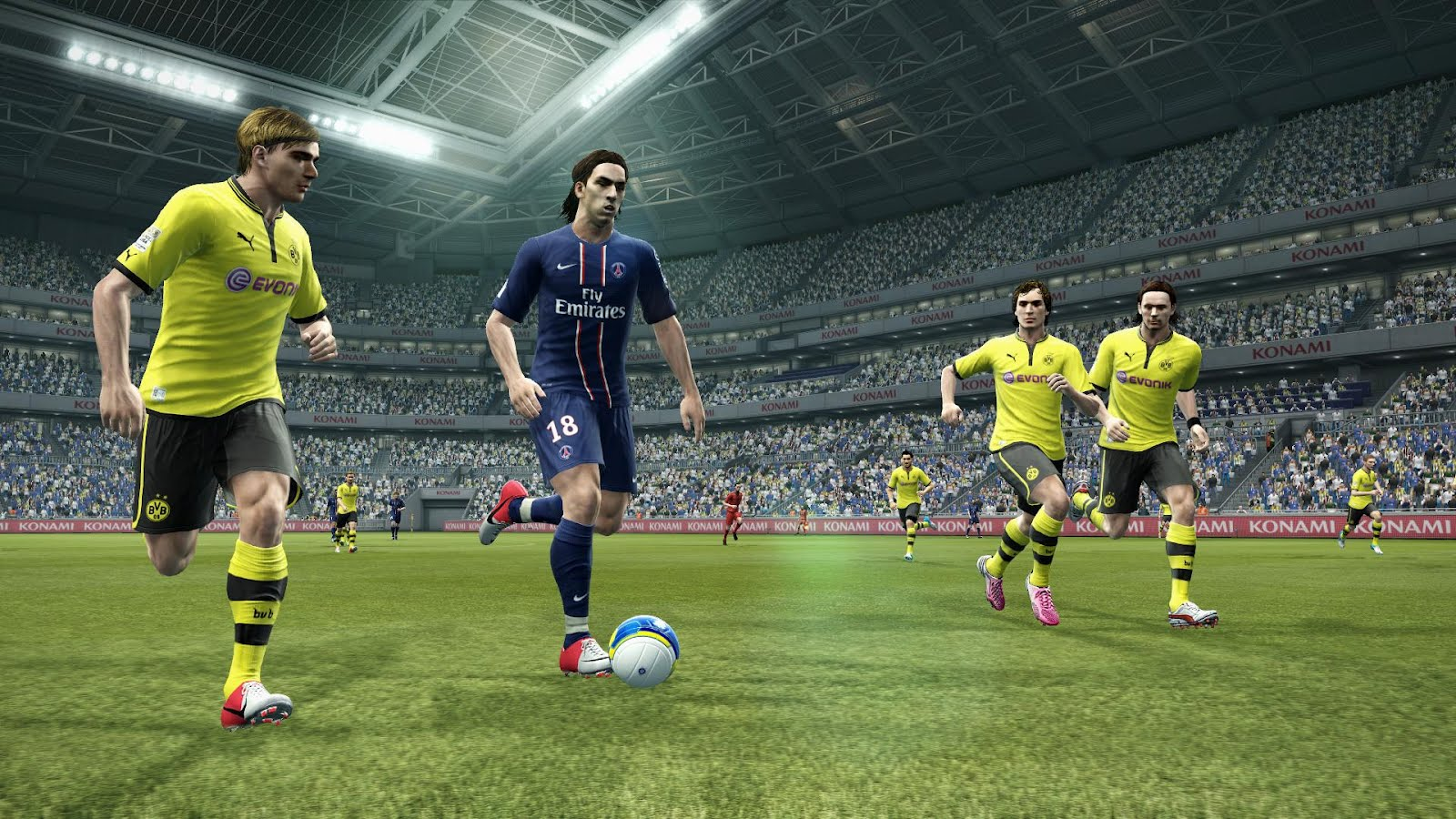 PES Pro Evolution Soccer 2013 Features