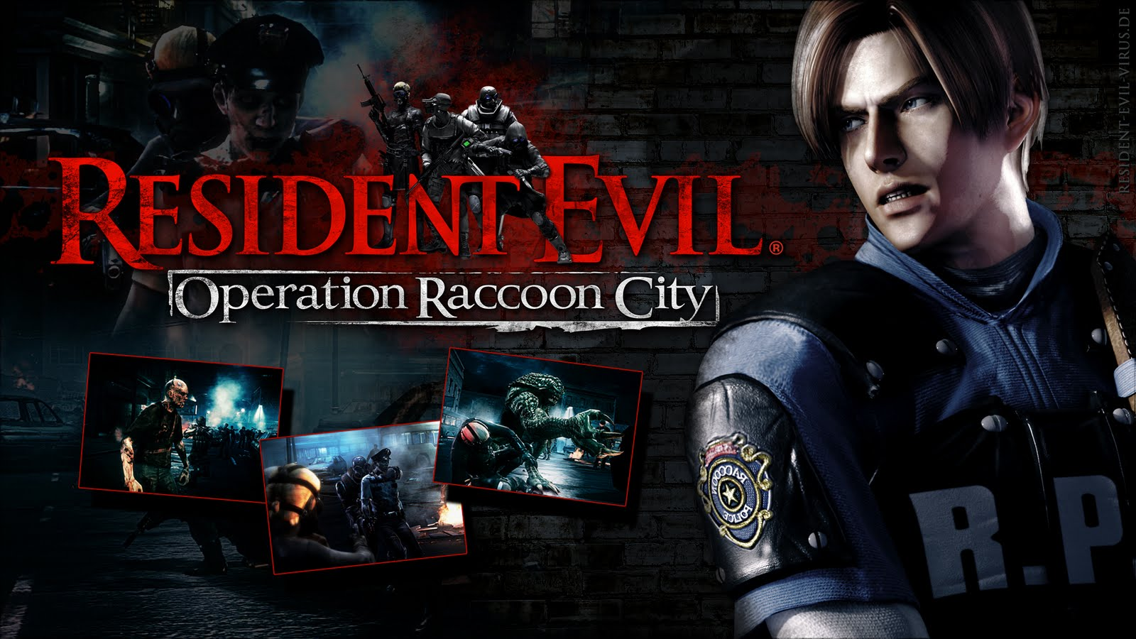 Resident evil: operation raccoon city full hd обои and фон.