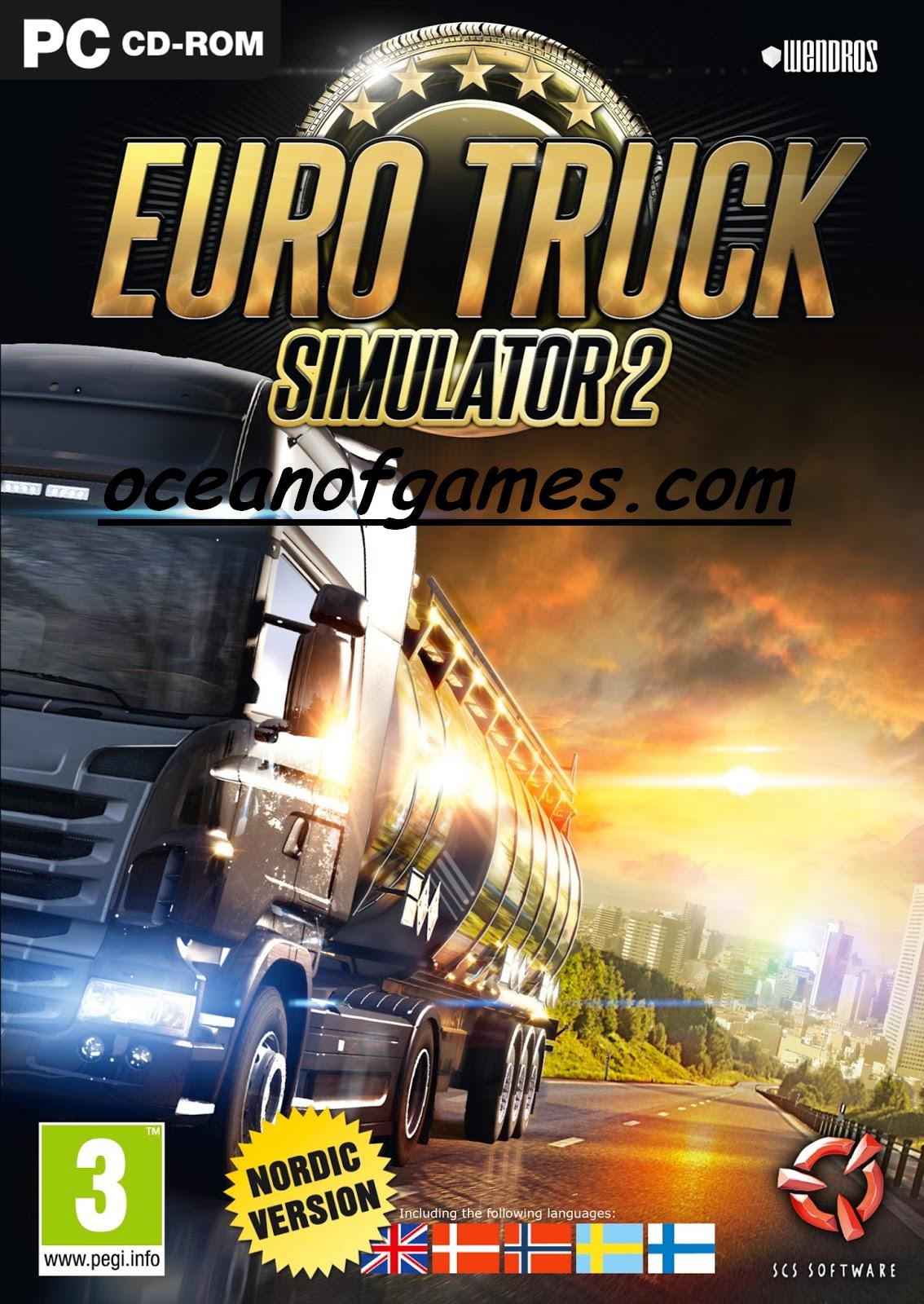 Euro Truck Simulator 2 Free Download - Ocean Of Games