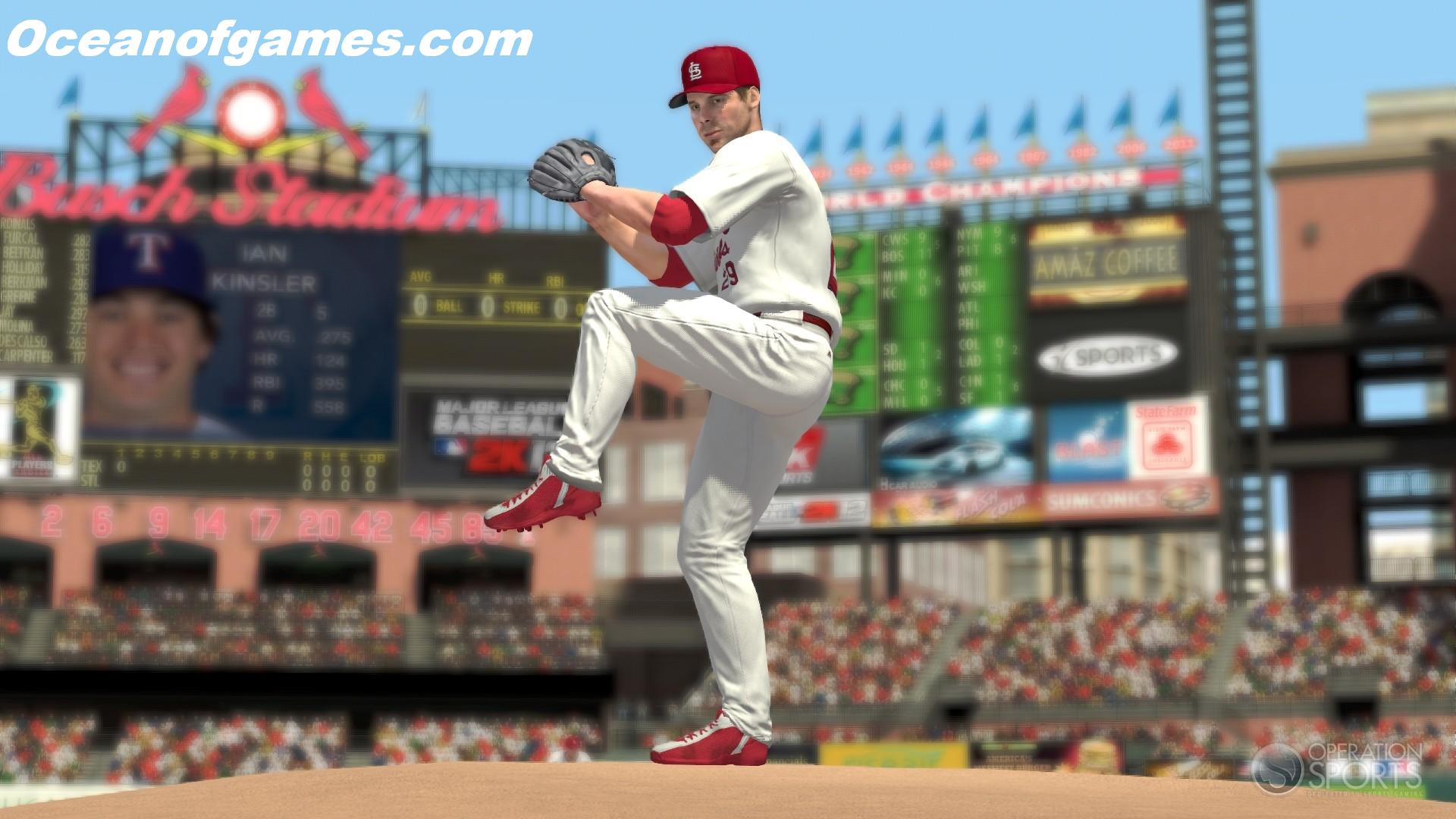 Free Major League Baseball 2K12
