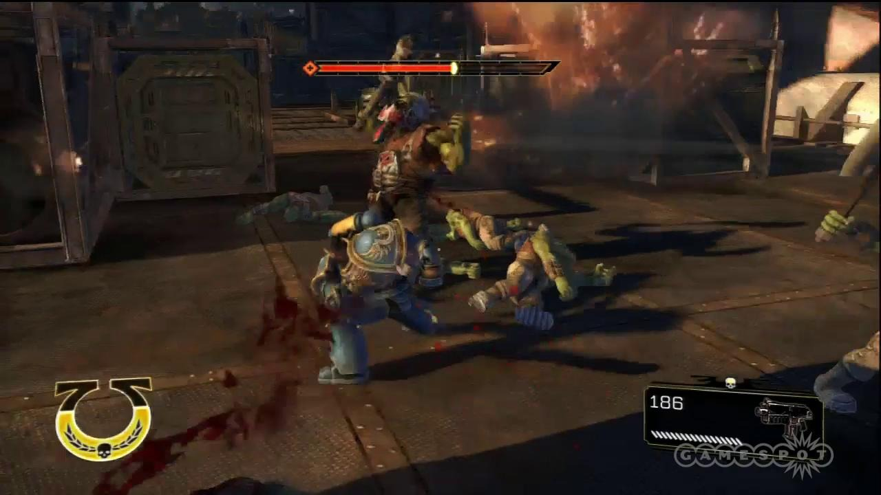 Warhammer 40000 Space Marine Free PC Game