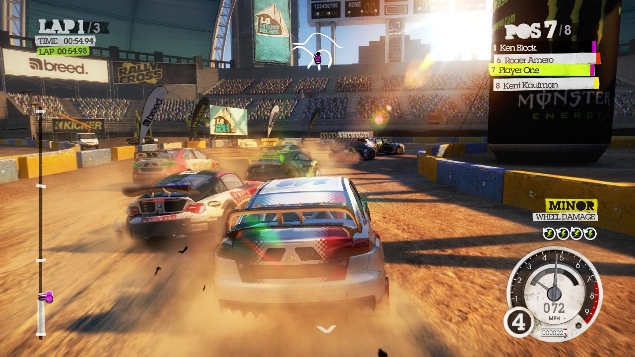 Dirt 2 Racing Game