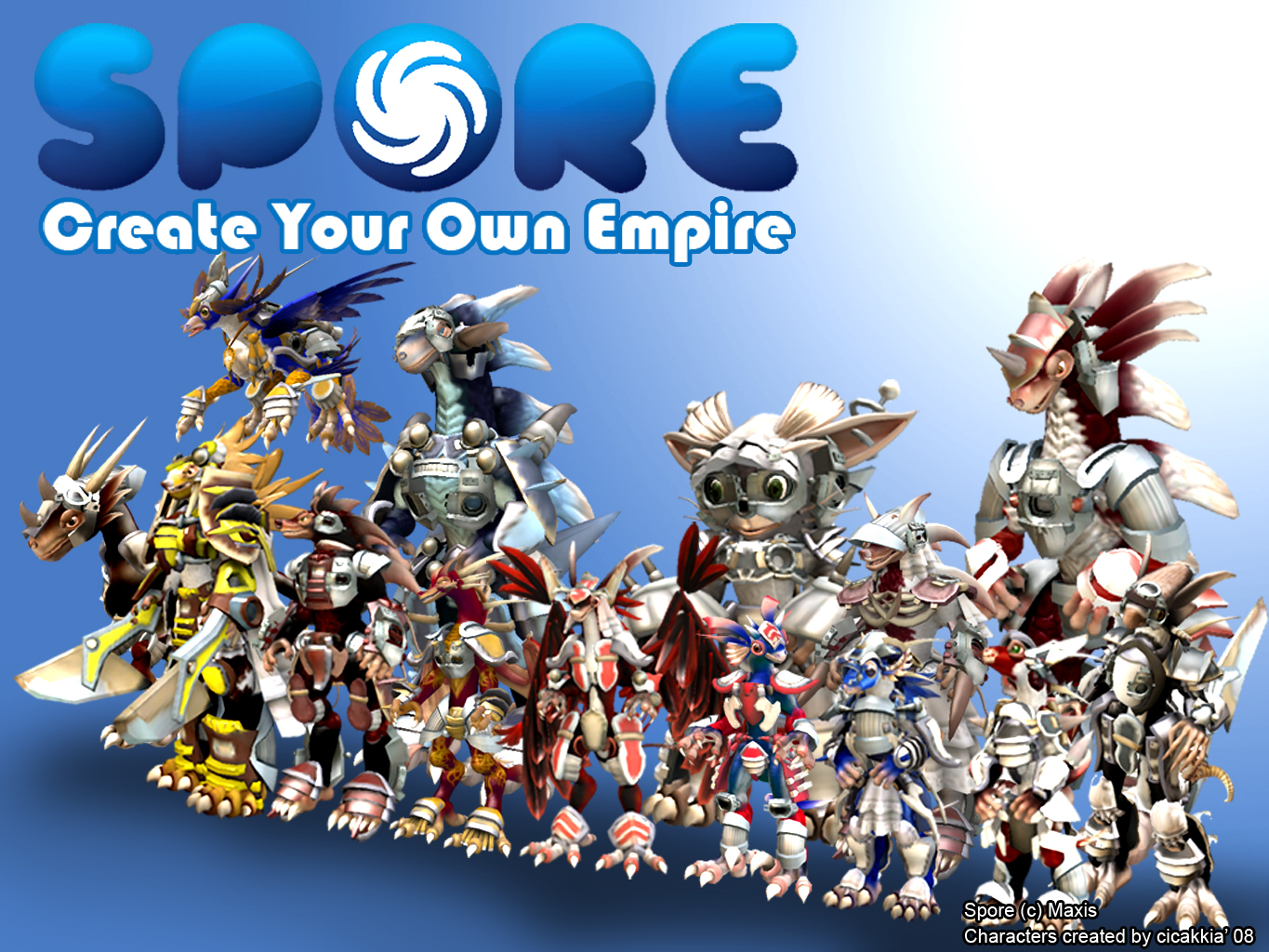 A Game For Free : Spore free download ocean of games