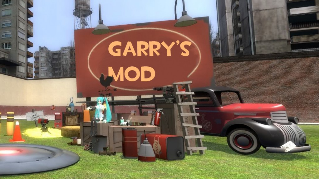 Garrys Mod PC Game Multiplayer Free Download