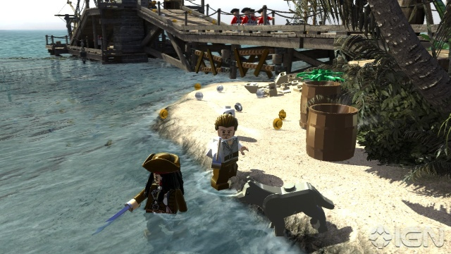 Lego Pirates Of The Caribbean features