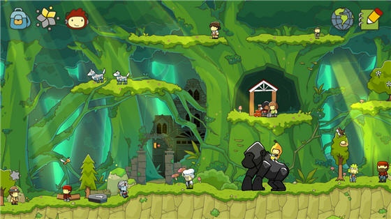 Scribblenauts Unlimited  features