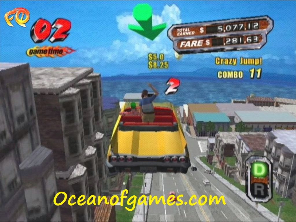 Crazy Taxi 3 Free pc Game