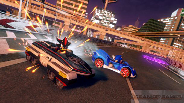Sonic And All Stars Racing Transformed Download For Free