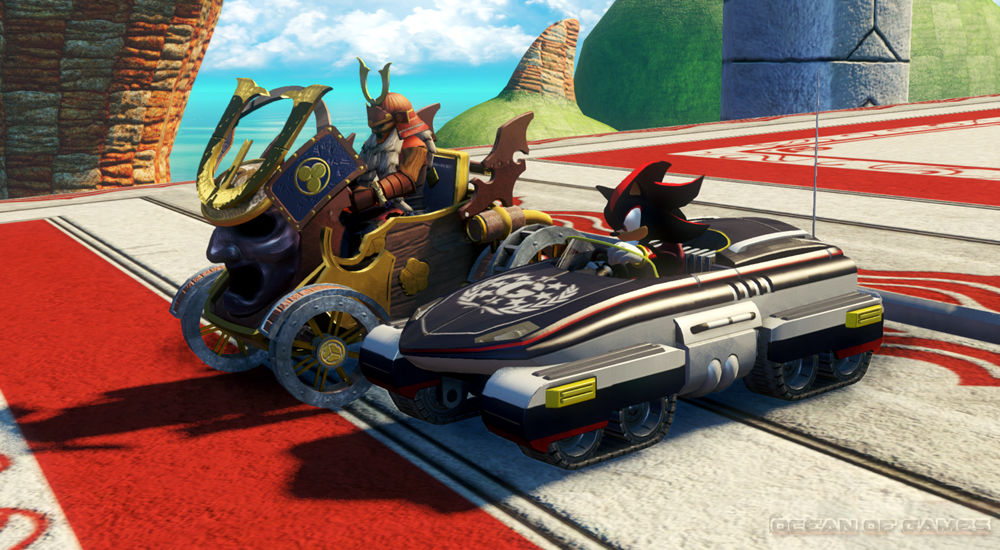 Sonic And All Stars Racing Transformed Features