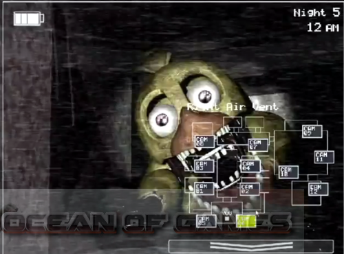 Features of five nights at freddy s 2 pc game