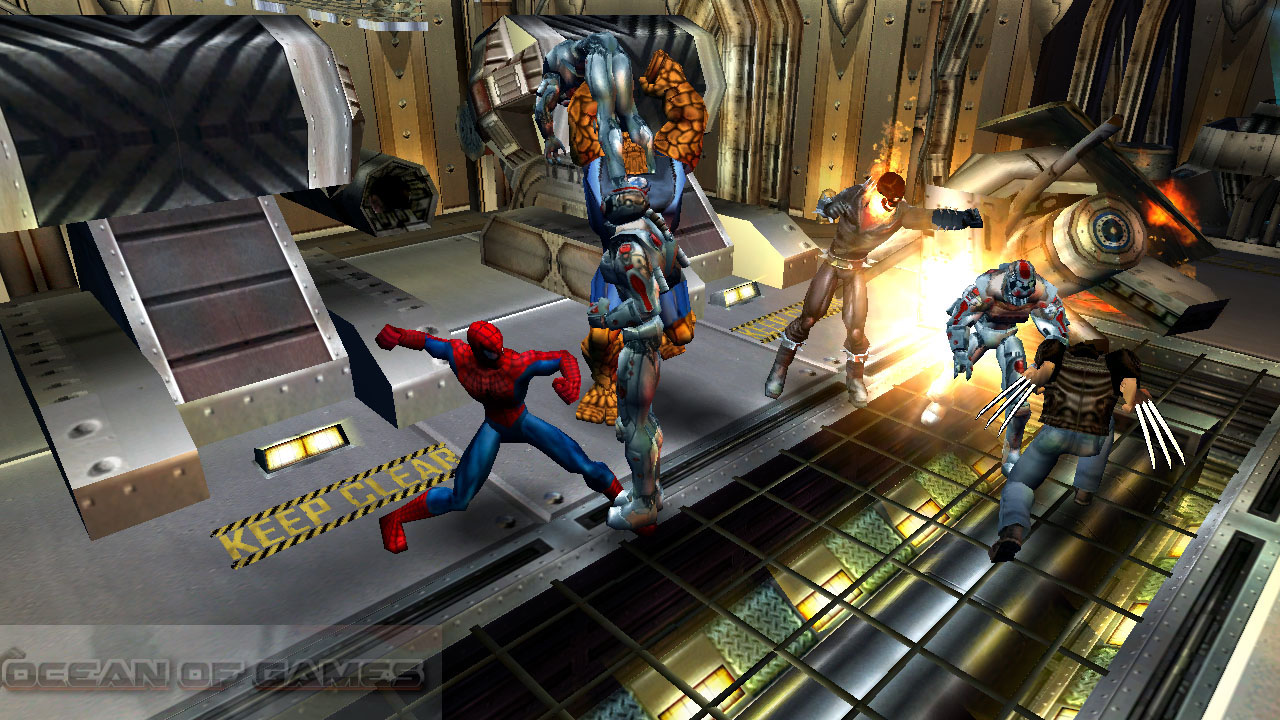Marvel Ultimate Alliance Game For Windows