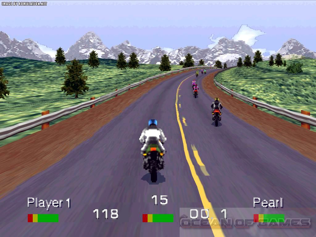 Road Rash Features