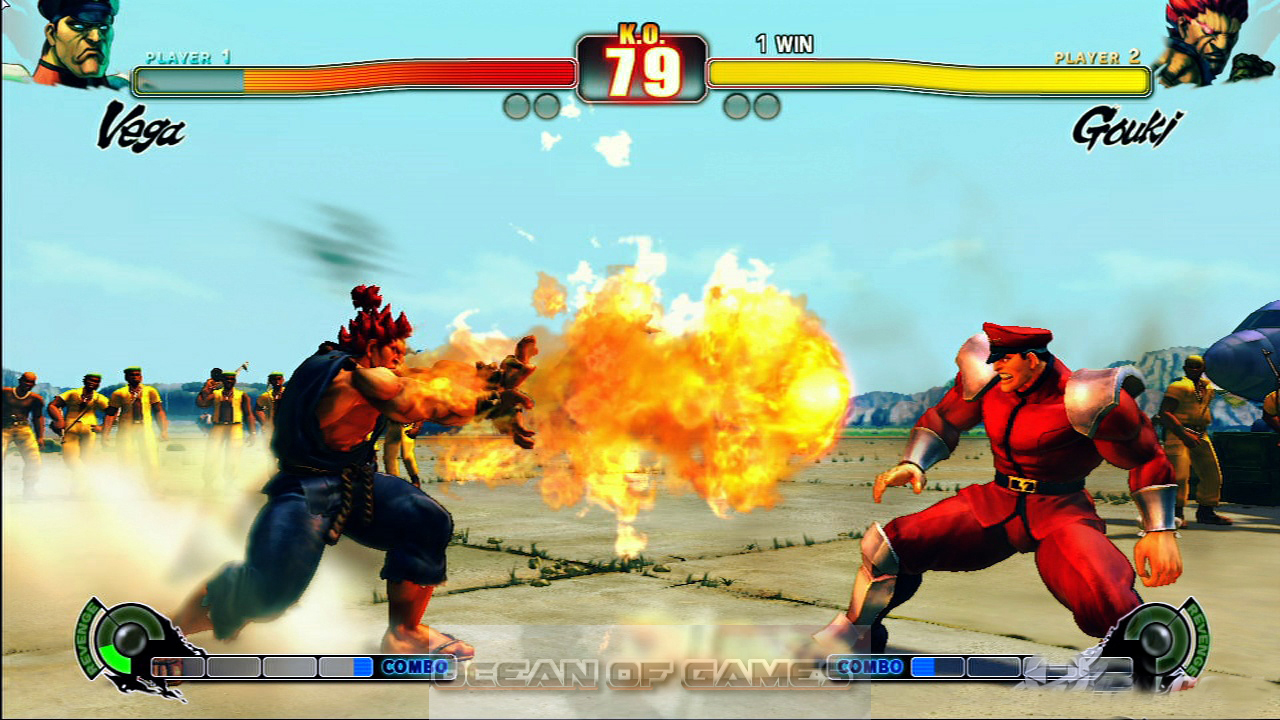 Street Fighter IV Setup Free Download