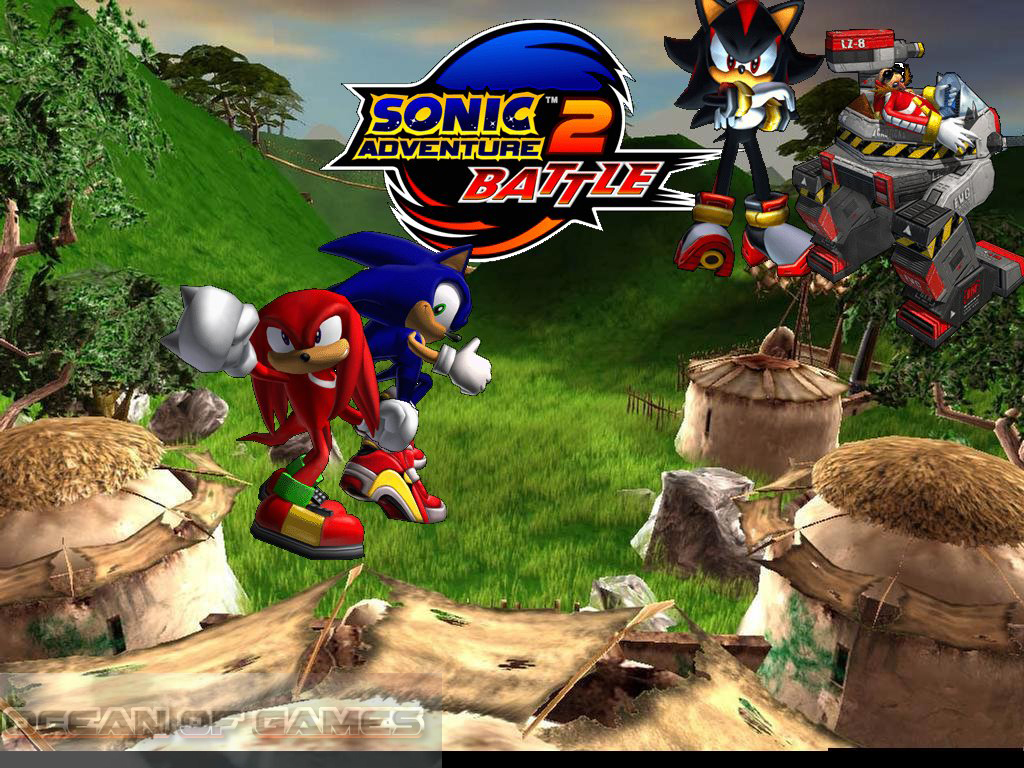 Sonic Adventure 2 Battle Features