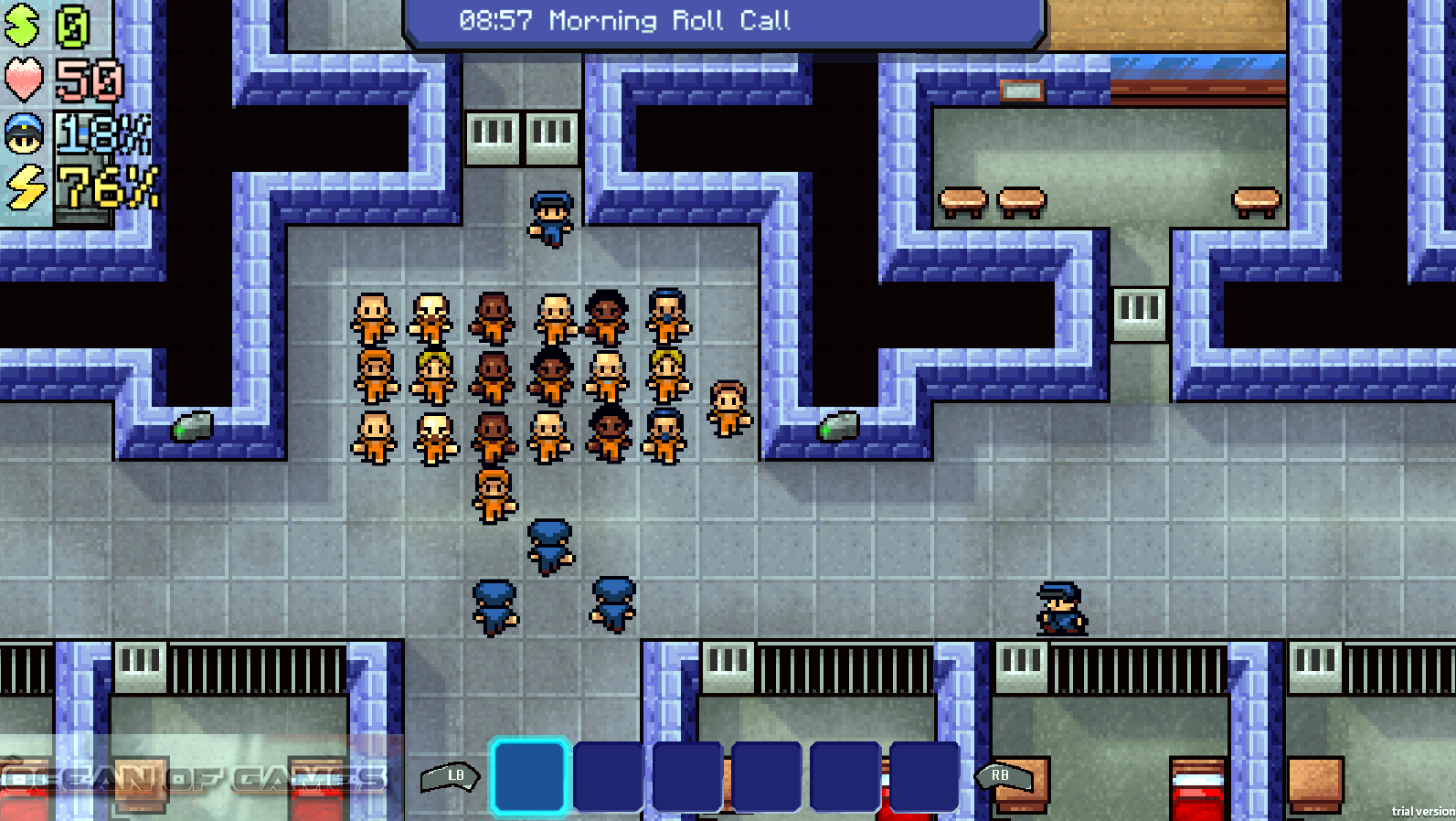 The Escapists Features