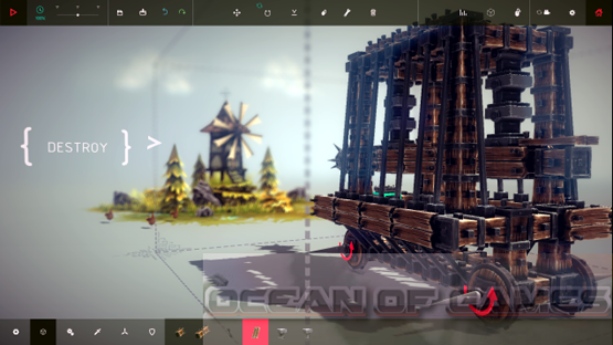 Besiege Features