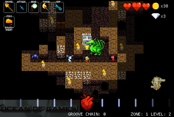 Crypt of The Necrodancer Alpha Setup Free Download
