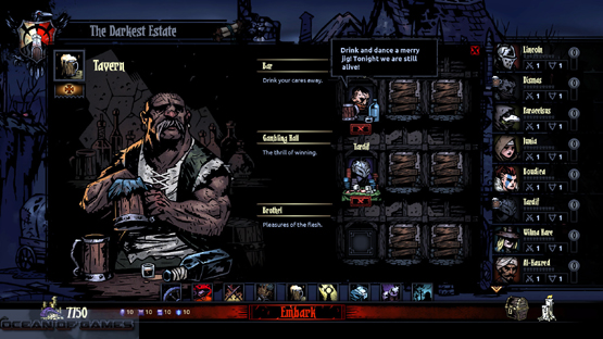 Darkest Dungeon Features