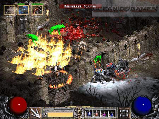 Diablo II Features