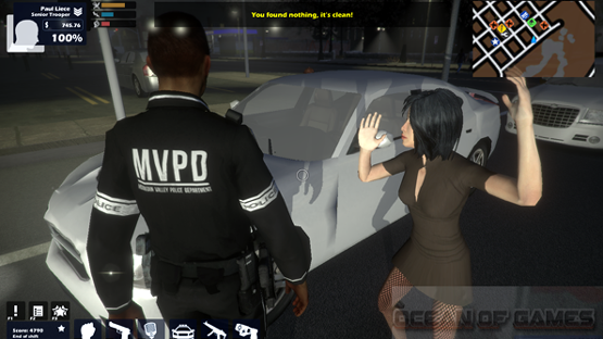 Enforcer Police Crime Action Features