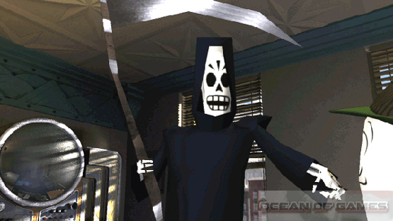 Grim Fandango Remastered Features