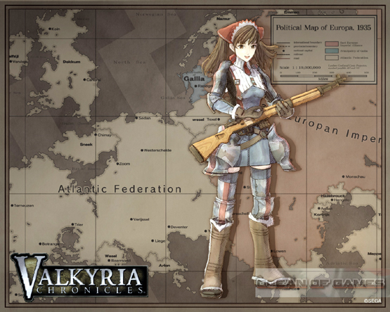 Valkyria Chronicles Features