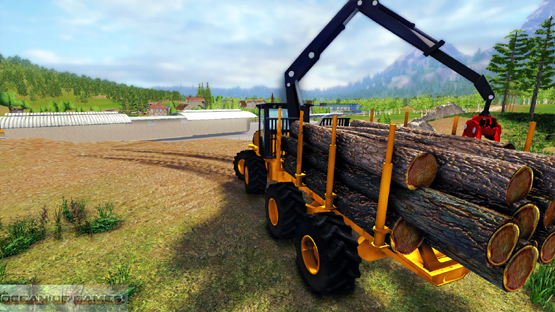 Professional Lumberjack PC Game 2015 Features
