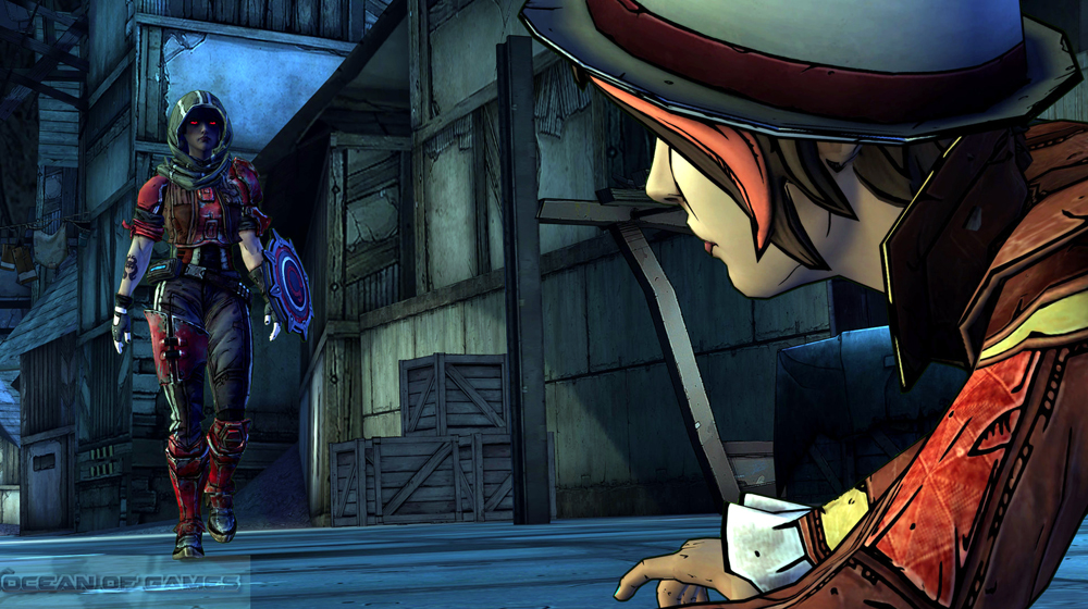 Tales from the Borderlands Features