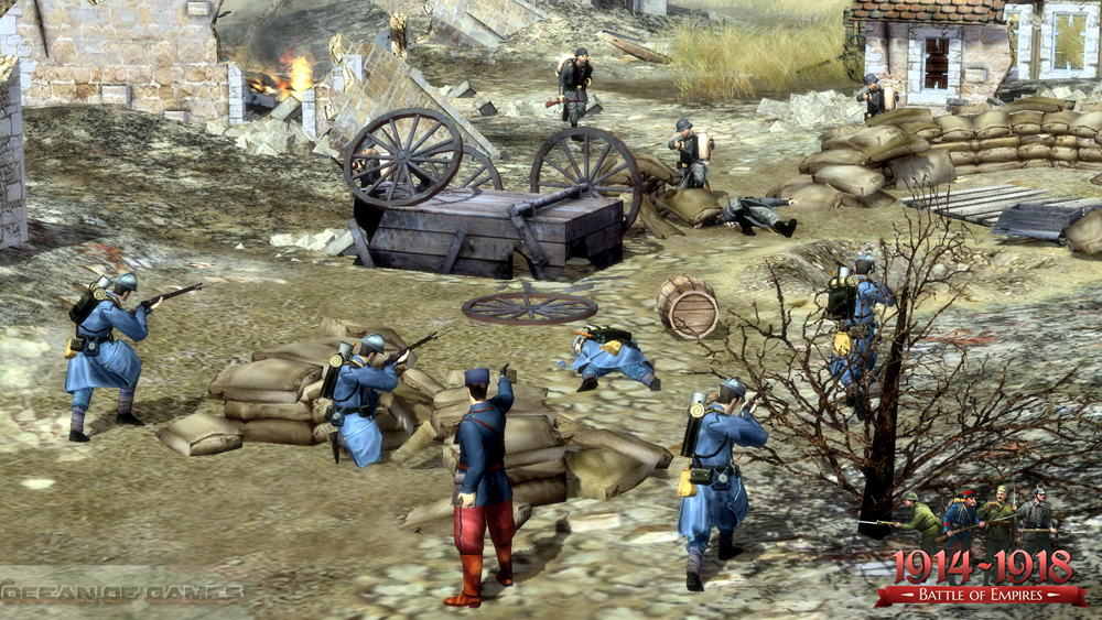 Battle of Empires 1914-1918 PC Game Setup Free Download