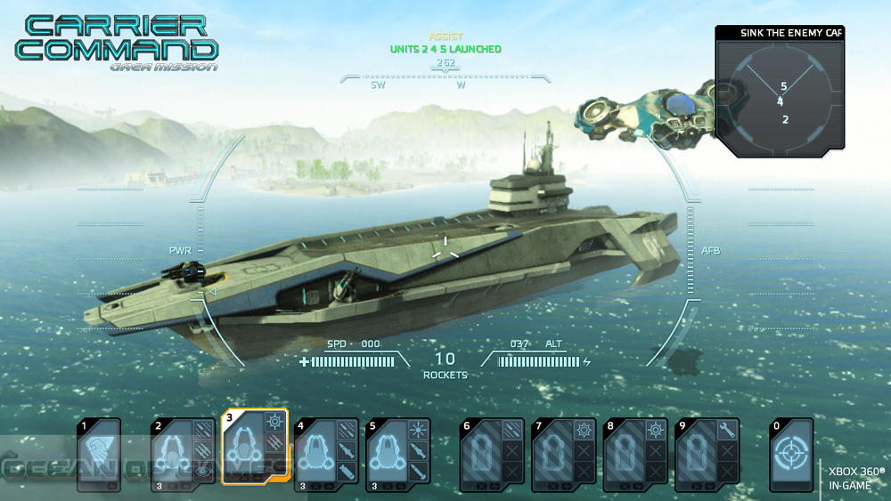 Carrier Command Gaea Mission Features