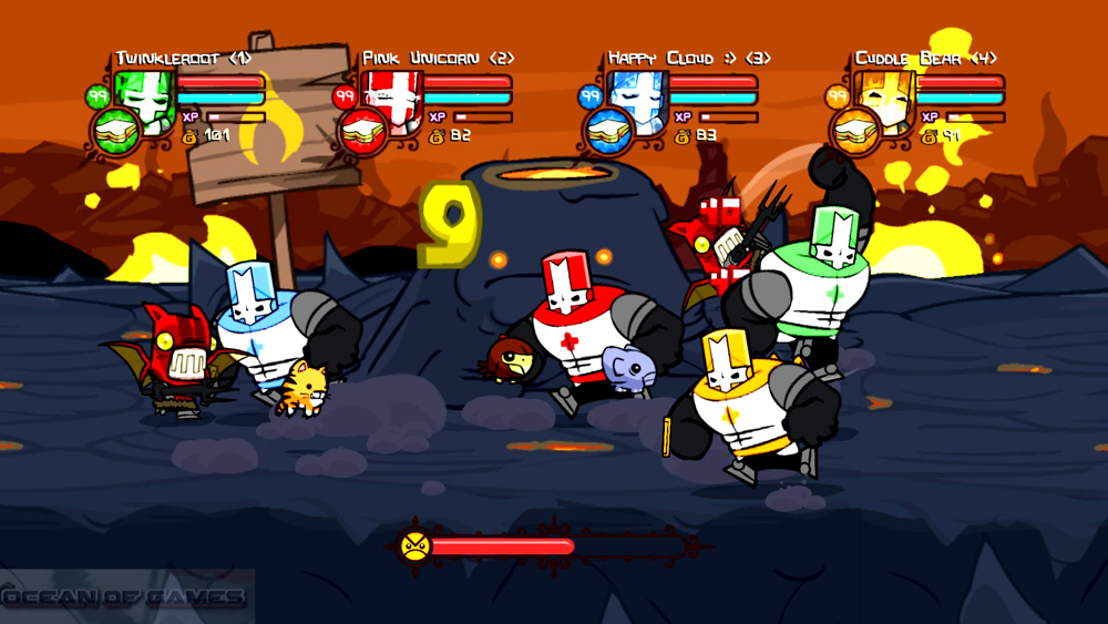 Castle Crashers Setup Free Download