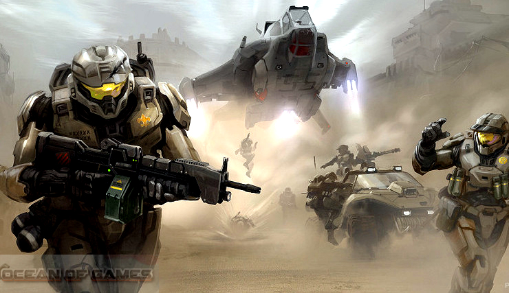 Halo Spartan Strike PC Game Setup Download For Free