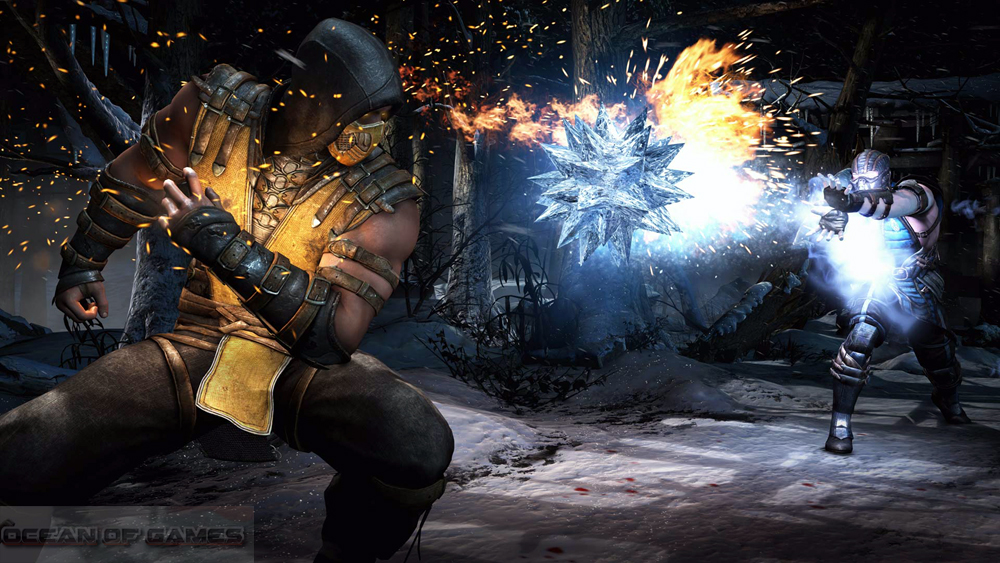Mortal Kombat X Features