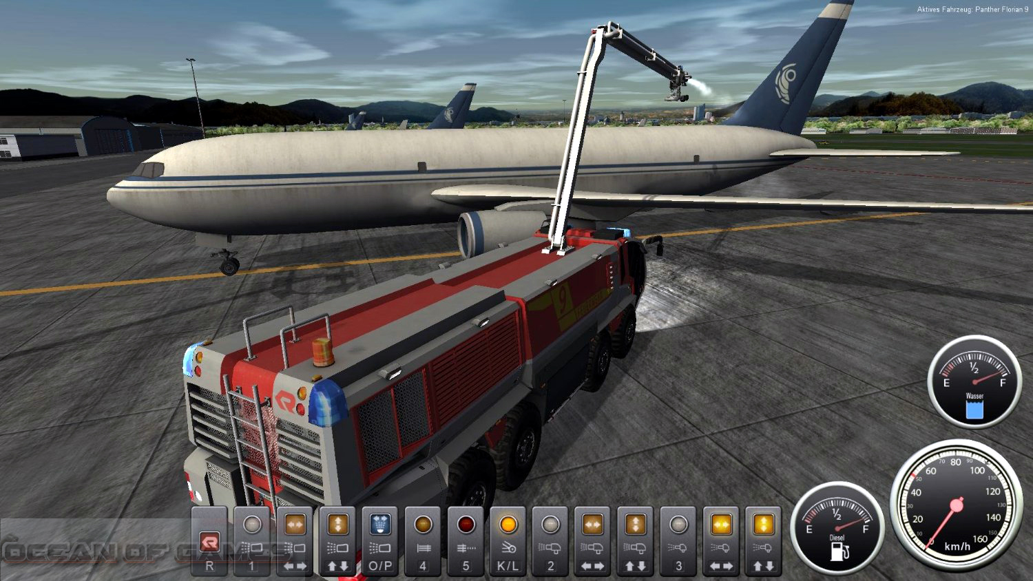 Airport Firefighter Simulator Setup Free Download