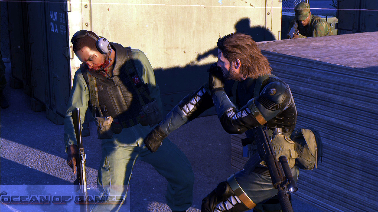 Metal Gear Solid V Ground Zeroes Features