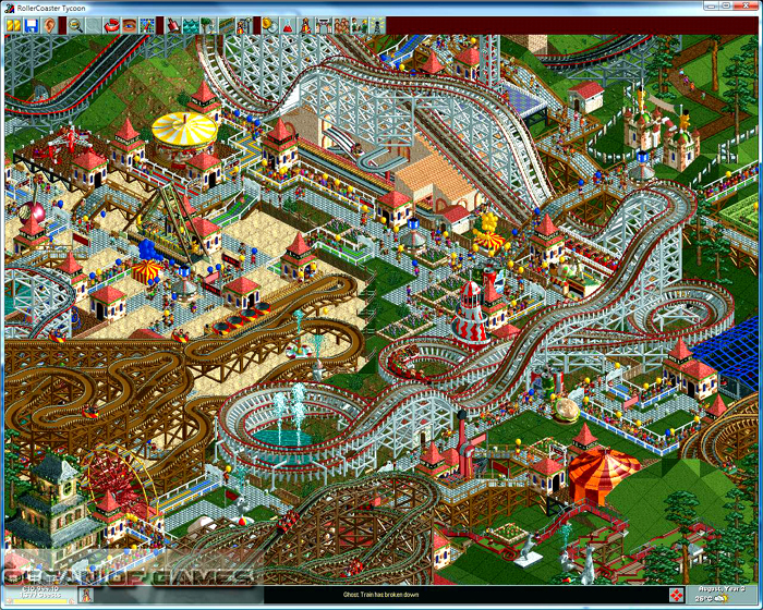 Roller Coaster Tycoon Setup Download For Free