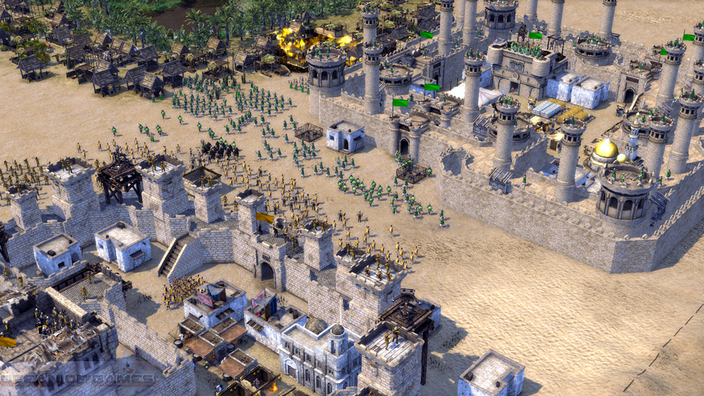 Stronghold Crusader 2 The Emperor and The Hermit Setup Download For Free
